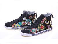 Free Shipping 2013/14 New Arrivals Dsq Men's Sneakers d2 Canvas Shoes 39-44Size