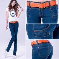 952 - 1 slim elastic skinny pants pencil pants jeans tight