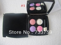 Brand makeup CC 4 color Professional powder eye shadow palette 12g eyeshadow free shipping