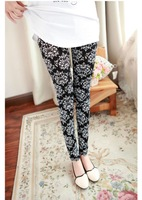 Fashion Leggings for Women 2013 Flower design s Deisgn Leg Slim Lady's Trousers Casual Daily Free Shipping