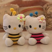 18 cm(7 inch) plush stuffed recording and talking toy hello kitty toy with sound recorder(12 second), novelty toys for kids