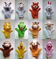 Wholesale Free Shipping Zodiac animal hand puppet  12 zodiac animal hand puppet , hand puppet