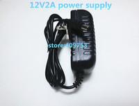 AC 100-240V to DC 12V 2A Power Adapter Supply Charger For LED Strips Light EU Plug