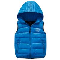 Child down coat vest male female child vest baby