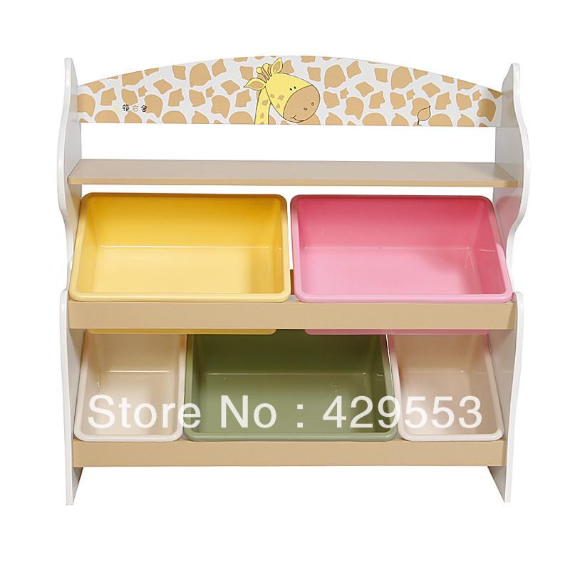 Toy rack storage cabinet box one piece bookcase child furniture storage cabinet(China (Mainland))