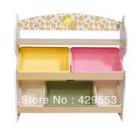 Toy rack storage cabinet box one piece bookcase child furniture storage cabinet