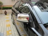 2010-2013 Mitsubishi Lancer/Lancer X/Lancer Evo ABS Chrome Rearview mirror cover Trim/Rearview mirror Decoration,Free shipping