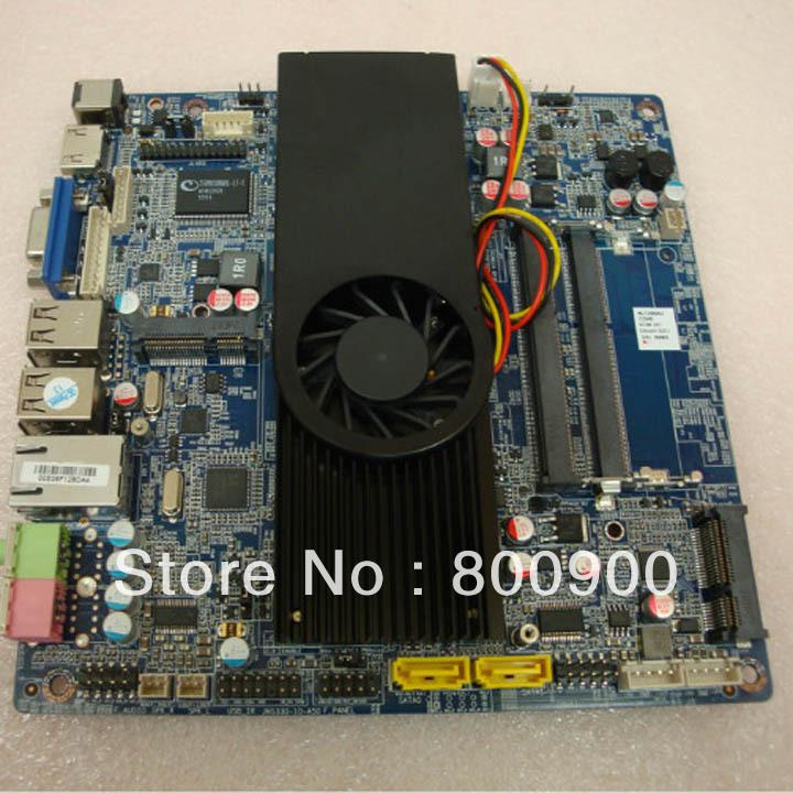 ASL ATOM D2550 dual core motherboard integrated MINI ITX motherboard slim small motherboard with D2550 cpu(China (Mainland))