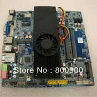 ASL ATOM D2550 dual core motherboard integrated MINI ITX motherboard slim small motherboard with D2550 cpu