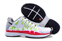 free shipping 3 colors hotsale cheap 2013 mens tennis shoes Roger Federer 9 tour sport footwear size:7-11, eur 40-45
