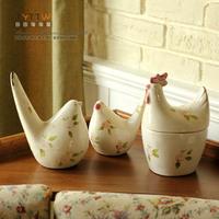 American classic ceramic bird decoration