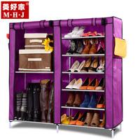 Simple shoe non-woven shoe combination storage fabric shoe