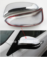 Free shipping! 2 pcs ABS chrome Side Mirror Cover Door Mirror Cover for RAV4 2014