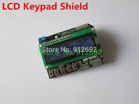 Free Shipping LCD Keypad Shield LCD1602 LCD 1602 Module Display For Arduino ATMEGA328 ATMEGA2560 raspberry pi UNO blue screen