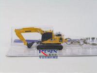 Komatsu small pc200 hybrid excavator keychain model 5572