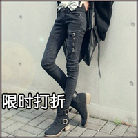 Female autumn trend skinny jeans high quality design of the trend of female pencil pants