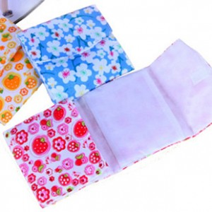 Creative woman's sanitary napkin bag storage bag sanitary towel storage bags