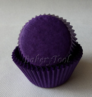 promotional FREE SHIPPING 300 pcs dark purple cupcake liners baking tools for cakes mould bakery boxes