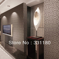 Modern waterproof  living room wallpaper PVC paper back  viny wallpapers wall paper for roll.free ship