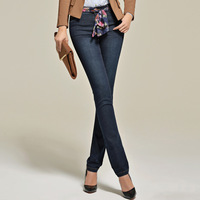 Pants 2013 autumn women's 2747x straight jeans pants