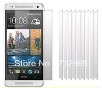 Clear LCD Screen Protectors Cover Film for HTC One Mini M4 601E & Cloth