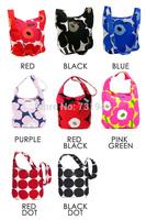 free shipping 2014 marimekko Unikko Bag    canvas  marimekko Clover shoulder bag  wholesale