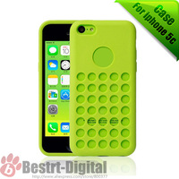 10Pcs/Lot, New Silicone Exterior, Soft Colorful Skin Cover, Silicon case for iphone 5C Best sell for iphone 5C Case