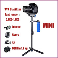 Professional Mini Handheld Aluminum alloy stabilizer & mini magic stabilizer S43 For Camera   30200205