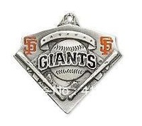 free shipping sport enamel single-sided San Francisco Giants charms