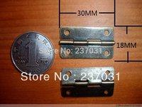 1.2 inch antique flat hinge / 4 hole hinge / hinge small wooden wine box / 30 * 18MM fixed hinge