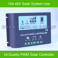 10A 48V  Solar Charge Controller,  with LED indicate the batttery Capacity, light and timer controll