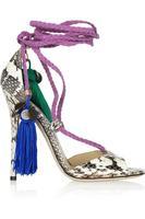 FreeshippingOlivia Dream Ankle Rop Tie  Elaphe Sandals 2013 platform python pumps women dress shoes  DT028