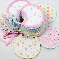 100% Cotton Baby Bib anise baby  bibs(16.5*13cm) breast feeding cover breast feeding