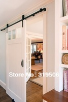 Rustica Sliding European Wood Steel Closet Barn Door Hardware