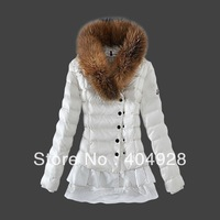 3009# 2013 New wholesale & retail top quality women's Winter Down jacket,   feather fashion short coat