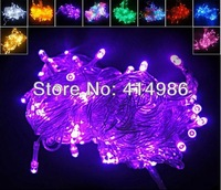 EMS wholesale 100pcs/lot  10m 80pcs 110V outdoor led string lighting holiday light decoration + Tail connector  L1080