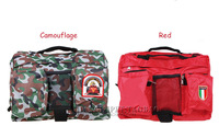 Free shipping Large dog backpack pet travel package school bag  with water bowl