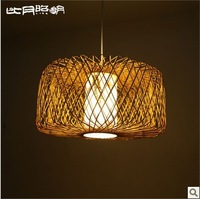 Japanese-style hand-lamp T8 lamps modern Chinese in Southeast Asia Chinese bamboo chandelier 3011