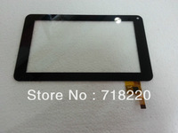 Free shipping 7 inch Tablet Capacitive touch screen ,cable TOPSUN_C0020_A1,Black
