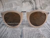 Free Shipping Sunglasses 2013 Designer Sunglasses Brand Name Harvest Vintage Cream Original Glass Lens With Original Box