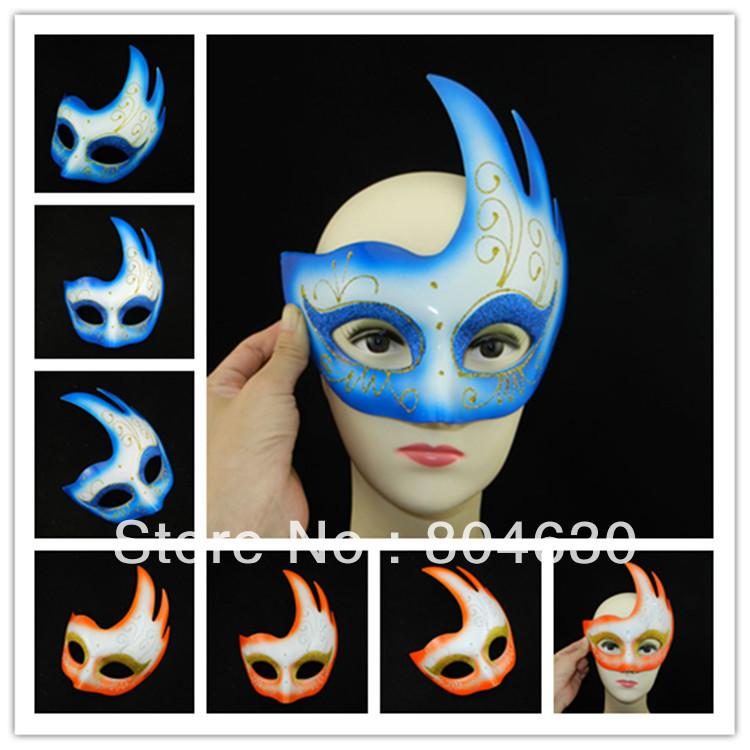 Men Mardi Gras Mask Drawing