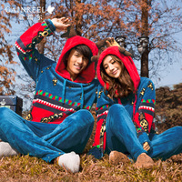 Song arrail winter cartoon animal ofdynamism isn't coral fleece sleepwear lovers lounge set