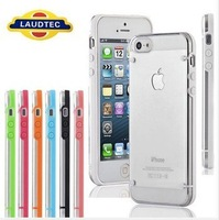 Transparent Hard TPU Case Cover for iPhone 5 / 5S