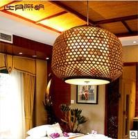 T8 lamps bedroom living room study pastoral handmade petal paper bamboo lamp 2558