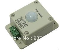 PIR Switch DC 12-24V 8A Automatic Infrared PIR Motion Sensor For LED Strip Light Bulb  free shipping