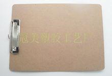 A4 меню буфер обмена фанера деревянный клип канцтовары