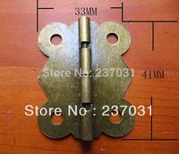 Antique butterfly hinge / gift box hinge / iron hinge 33 * 41MM