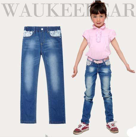 дети джинсы мода для весны и