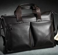 Vancl paul male shoulder bag men's bags vintage cross-body bag portable business document laptop bag