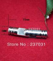 5 * 25MM  Gift Hardware support hinge / cylindrical hinge / wooden box hinge / hinge white copper